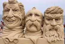 Sand Sculptures / by Valerie Lewis
