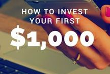 Investing Basics / Investing tips for beginners, making money, guide stocks and dividends