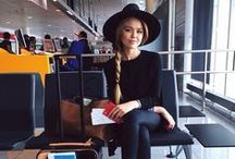 Airport Style... / Outfits to wear to the airport