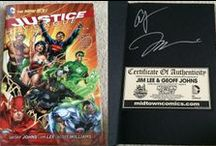 Comic Books (Signed) / Comics I own signed by various people.