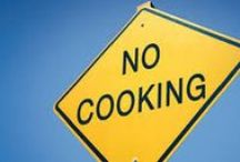No Cook August / Who really want's to be over the stove?