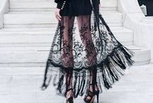 Grunge Style... / Outfits that are dark, edgy and grungy