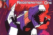 Transformers Regeneration One / A listing of Transformers: Regeneration One series retailer incentive variant covers. Most of the retailer incentive variants were done by Geoff Senior.