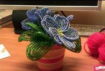 My creations - beads flower / Tutti i fiori di perline che ho realizzato