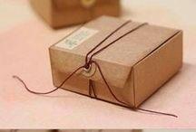 Scatole & buste / Prptotipi di scatole e buste fai da te