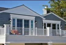 GDC Construction Project - California Cape Cod Style Residence / Impeccable craftsmanship and attention to detail is demonstrated by GDC Construction's skilled carpenters whose work is exhibited in the intricate woodwork on this Southern California, Cape Cod style home.