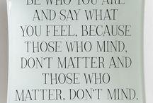 Nice & true things
