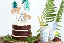 Let's Explore / Adventure party theme, camping party, sleepover party