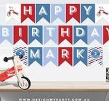 Tricycle Party Theme