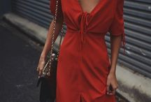 Girl In The Red Dress - Fashion