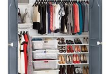 Closet + Clothing Organization / Tips for organizing closets and your clothing including pants, shirts, sweaters, etc.  / by Elizabeth Larkin