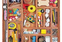 Drawers & Junk Drawers / Drawer organization including junk drawers and kitchen drawers  / by Elizabeth Larkin