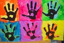 HandPrint/FootPrint/FingerPrint Art / by Barbara Richter