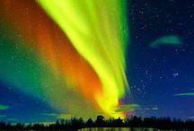 Aurora Borealis~Nature's Art / by Barbara Richter