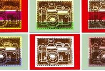 Linoleum prints & stamping