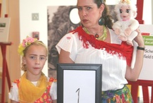 "Frida & Diego Costume Contest / The High Museum held a Frida & Diego Costume Contest at our February 21 Evening for Educators. ""Like"" your favorite contestants. Contest closes on Monday, March 4 at 5:00 PM.