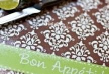 Kitchen Love / Are you addicted to kitchen linens and towels? So are we.  You'll find inspiration for your kitchen on this board for everything including the farm sink!