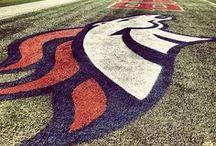 Denver Broncos!  LOVE! / by CooperGreenTeam