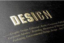 Magazine print layout design