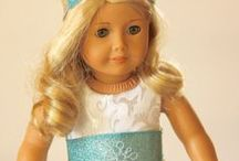 """American Girl Doll Clothes / Handmade doll clothes for American Girl and other 18"""" dolls. / by Frog Blossoms"""