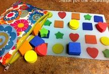 Homeschool: Keep the little guy busy during big girl's classes