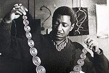 "Modernist Jewelry - Art Smith / This exhibition presents twenty pieces of jewelry by acclaimed African American jewelry designer Arthur ""Art"" Smith, featuring work from the late 1940s through the 1970s. June 21-September 13, 2015 / by High Museum of Art"
