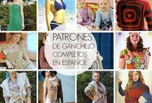 Ganchillo patrones / Patrones de prendas completos en español por temporadas / by Enrhedando Yolanda