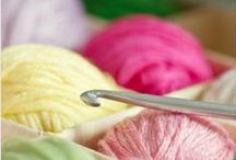 Beautiful Crochet / What can you make with a crochet hook and yarn?  It's amazing! / by Frog Blossoms Linda :)