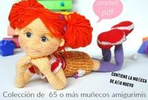 Amigurimis Crochet / Todo lo relacionado con Muñecos de crochet, intentando sean patrones en español. / by Enrhedando Yolanda