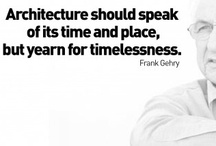 Frank Gehry ... Architect, Furniture and Jewelry Designer / by Nancy McNamara