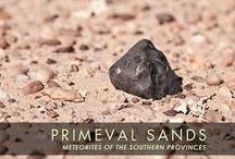 Meteorites / Stone and iron meteorites, in situ find photos, meteorite searching in the Sahara desert
