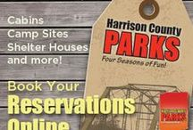 Harrison County Parks nearby / Indiana Caverns is located just one mile from two amazing county parks:  The Battle of Corydon site and Hayswood Natural Reserve with the Indiana Creek Trail
