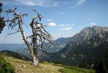 Parque Natural de Cadí-Moixeró / El Parque Natural de Cadí-Moixeró, es el más extenso de los parques de Cataluña. Se encuentra entre las provincias de Barcelona, Gerona y Lérida, en el ámbito de las comarcas del Berguedá, el Alto Urgel y la Cerdaña. Dentro del Parque Natural se encuentra el Pedraforca, montaña de forma característica situado en la zona sur, y constituye uno de los símbolos del excursionismo en Cataluña.