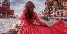 Follow Me / Photographer Follows His Girlfriend Wherever She Leads Murad Osmann