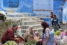 Moroccan souq