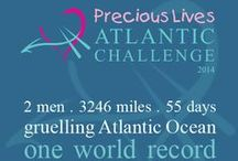 Precious Lives Atlantic Challenge 2014 / Chris Walters and Elliott Dale will take on the mighty North Atlantic Ocean and row more than 3,000 miles from New York, USA to the Isles of Scilly.  Chris and Elliott are raising money for the Children's Hospice South West.  Find out more >>  www.chsw.org.uk/precious-lives-atlantic-challenge