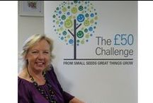 The £50 Challenge / The £50 Challenge is all about using your business skills and innovation to generate as much money as possible for Children's Hospice South West with the £50 start-up investment.  Deborah Meaden, Dragons' Den Investor and entrepreneur supports The £50 Challenge. #chsw #the50poundchallenge #deborahmeaden #childrenshospice