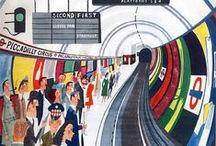 London - illustrationer