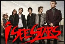 I See Stars / I See Stars is one of my favorite bands. They are a electronicore band from Warren, Michigan and they have recently release to awesome new album called New Demons.They are great live and I love their amazing music. / by Patrick Primacio