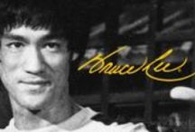 Bruce Lee / The Greatest and the Most Influential Martial Artist of all time. He created his own martial arts called Jeet Kune Do and the only person that kick Chuck Norris' ass. / by Patrick Primacio