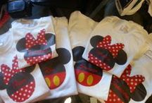 Disney personalized T-shirts / Personalized t-shirts for disney vacation in family or group of friends