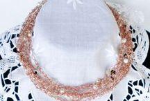 creare per passione / gioielli, collane, orecchini con tecniche varie e tanti altri oggetti...