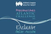 Precious Lives Atlantic Challenge eBay Auction / You can support the Precious Lives Atlantic Challenge by taking part in our Exclusive Online Auction.  You can bid on one of a kind items to once in a lifetime experiences.  Our eight unique auction lots have been generously donated to raise funds to support Children's Hospice South West.  Visit our eBay auction category > http://ow.ly/xKiNN  #preciouslivesatlanticchallenge #ebayauction #chsw #atlanticchallenge