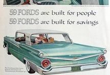 Vintage Car Ads / Remember these ads? maybe they were before your time!? How things have changed!