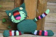 animaux tricotés, fabriqués / tricot, crochet