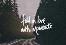 Beauty of moments