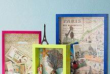 Travel memories / Travel displays, keepsakes and memories