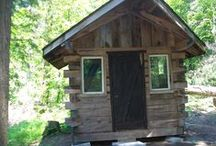 Tiny house, log Cabin, log homes bunkies / Design your tiny house assemble on site shipps any where