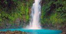Waterfall Wanderlust / Costa Rica Waterfalls we're drooling over.