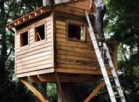 outdoor treehouse